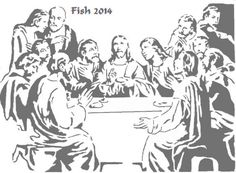 Last Supper 7 - Religious - User Gallery - Scroll Saw Village