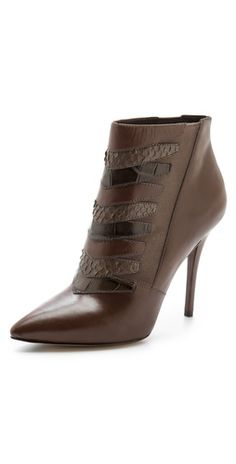 B Brian Atwood Duris High Heel Booties♥✤ Ankle Boots, Bootie Boots, Women's Boots, Brian Atwood Shoes, Beautiful Heels, Designer Boots, Fashion Heels, Cool Boots, Me Too Shoes