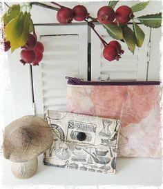 Mit schönem Papier und Bucheinschlagfolie lassen sich tolle Taschen zaubern. Mehr Bilder gibt es auf meinem Blog: http://naehmannsland.blogspot.de/