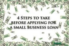4 Steps to Take Before Applying for a Small Business Loan :: Mint.com/blog