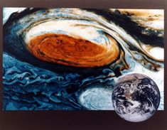The km-wide Great Red Spot on Jupiter is a storm that's been brewing for at least the past 200 years. To put it into perspective, the Earth could fit in the Red Spot three times over. List Of Planets, Great Red Spot, Jupiter Planet, Space Debris, Moon Orbit, Bizarre Stories, Asteroid Belt, Universe Images, Dwarf Planet