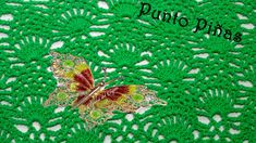 Como tejer punto piñas crochet ganchillo paso a paso - How to crochet pineapples stitch step by step Pineapple Crochet, Plant Leaves, Crochet Patterns, Diy, Stitch, Painting, Crocheting, Videos, Youtube