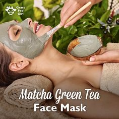 Matcha Green Tea, used in this face mask is a concentrated, very prized powder made up of the ground up leaves of green tea. Green tea can have sun protective benefits. It is also full of antioxidants which is great for skin health. Green tea also increases the production of alpha brain waves to calm the body.
