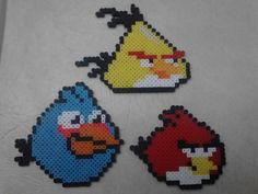 Angry Birds Perler Bead