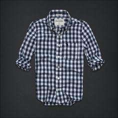 abercrombie kids - Shop Official Site - guys - shirts - plaid - tupper lake