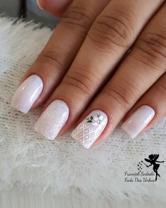 Espero que gostem… White Nail Designs, Gel Nail Designs, Gorgeous Nails, Pretty Nails, Pink Phone Cases, Flower Nails, Nail Art Galleries, Beauty Art, French Nails
