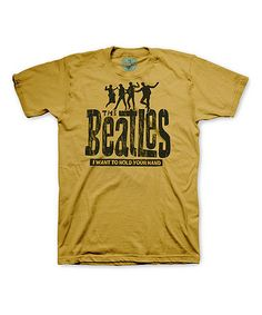 Love this Sand The Beatles 'Hold Your Hand' Tri-Blend Tee - Men's Regular on #zulily! #zulilyfinds
