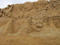 Sand sculptures in Søndervig | Flickr - Photo Sharing!