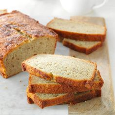 Banana Eggnog Bread