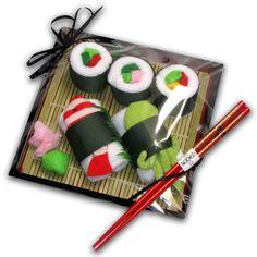 Washcloth Sushi
