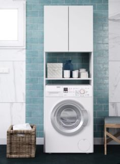 Furniture over the washing machine - Furniture over t
