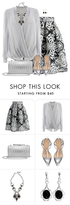 """""""Grey"""" by daiscat ❤ liked on Polyvore featuring Chicwish, Coast, KOTUR, Zara, Alexis Bittar and Goldmajor"""