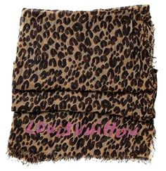 0976689b49fc0 The ultimate leopard print accessory. A 4 x 7 cashmere  amp  silk Louis  Vuitton