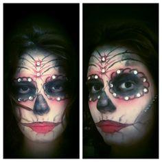 #Halloween #makeupartist