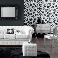 canapé chesterfield cuir blanc - Recherche Google