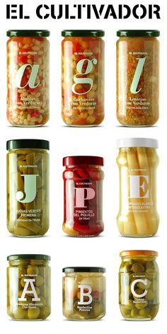 Branding y packaging para la marca El Cultivador de ALDI Supermercados España. Branding and packaging for El Cultivador brand for Spain's ALDI Supermarkets.