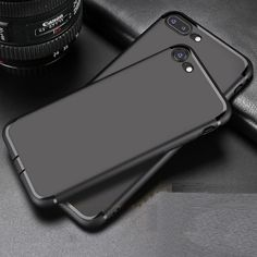 Case For iPhone 7 7Plus Soft TPU Silicon Anti-Scratch Anti-fingerprint Shockproof Phone Case for iPhone 7 7 Plus 6 6s Plus Shell