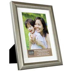Studio Decor Simply Essentials Silver Foil Frame with Mat