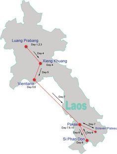 10-day Laos Tour off the Beaten Track - Laos Tours