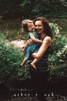Oh joy!  Sweet happy family lifestyle portrait session with a toddler girl in Boston, Massachusetts by Asher + Oak Photography.  Woodland forest family shoot, moody light and authentic emotion.