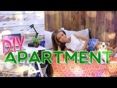 (1) DIY - How to Make: Doll Apartment | Bedroom | Kitchen | Livingroom and MORE!! - YouTube