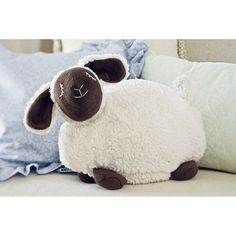 Warming Ewe - Heat this soft, floppy sheep's removable insert briefly in the microwave and use it to warm cold bed sheets or relax busy minds before sleep. My son loves this, especially now that the nights are cold. Would make a great Christmas or birthday gift $30
