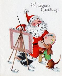 Vintage Christmas Greetings!!