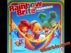 Rainbow Brite Hammock