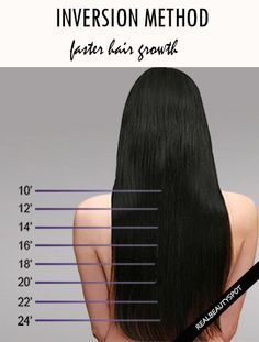 Inversion Method – Grow Your Hair 1 Inch In A Week