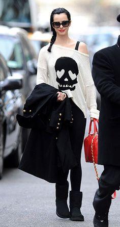 Rock fashion clothing