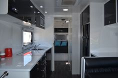 Kitchen with large bench space Caravans For Sale, Rv Parts And Accessories, Bench, Space, Storage, Kitchen, Furniture, Home Decor, Display