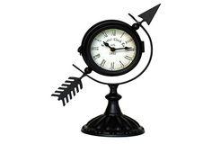 Arrow Table Clock
