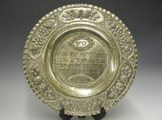Antique Seder Plate