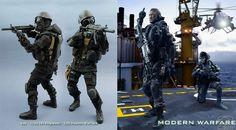 OneSixthWarriors CUSTOM made Call Of Duty Figures – Charlie INTEL Blog: Call of Duty Ghosts - Black Ops 2 - Modern Warfare 3