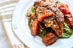 Balsamic Garlic Chicken