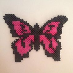 Butterfly hama beads by maries_perlerart