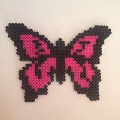 Butterfly hama beads by maries_perlerart