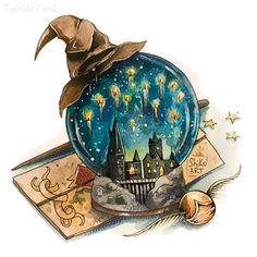Harry Potter Painting, Arte Do Harry Potter, Theme Harry Potter, Harry Potter Artwork, Harry Potter Drawings, Harry Potter Tattoos, Harry Potter Room, Cute Harry Potter, Harry Potter Aesthetic