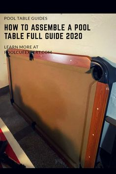 It's not as hard as you may think Table Frame, Table Set Up, Pool Table Felt, Custom Pool Tables, The Slate, Screws And Bolts, Felt Material, Pool Cues, Free Space
