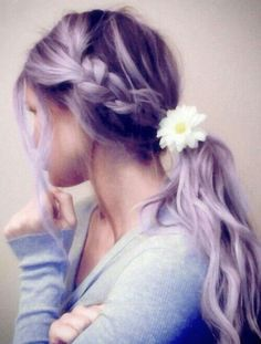Recently Come To The Conclusion That I Want Lavander Hair
