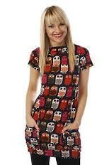 Just orded this lil dress :-) Owl Patterns, Dress Patterns, Pattern Dress, Owl Print, Tunic, Knitting, Owls, Hunting, Clothes