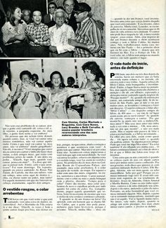 """Elizeth Cardoso - """"Devo tudo à minha garganta"""" - reportagem na revista """"Manchete"""" de 1983 - página 2/3."""