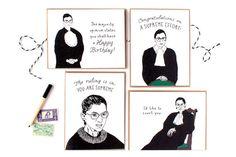 Ruth Bader Ginsburg Cards - Boxed Set