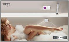 Baterie dus electronica Tres Touch ingropata, cu doua iesiri Windy Girk, Granada, Bathtub, Technology, Shower, Control, Showers, Bathroom Sinks, Color Grading