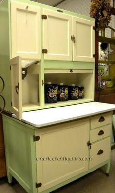 How much is an oak Hoosier cabinet worth? | Hoosier cabinet ...
