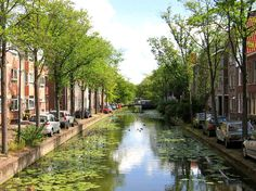 Delft - Kantoorgracht Delft, The Hague, North Sea, Bruges, Old City, Rotterdam, Belgium, Places Ive Been, Dutch