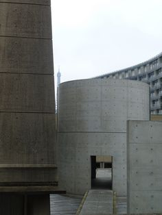 concrete cylinder - Tadao Ando - Meditation Space, UNESCO Paris (1994-5)