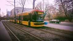 Light Rail, Warsaw, Coaches, Buses, Poland, Trains, Europe, Trainers, Workout Trainer