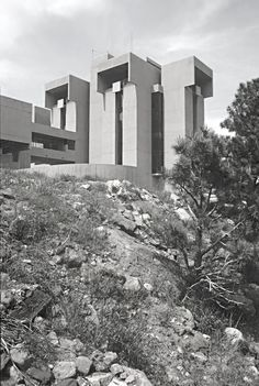 I.M. Pei. NCAR National Center for Atmospheric Research, 1961-67 Boulder  Photos by Ezra Stoller.