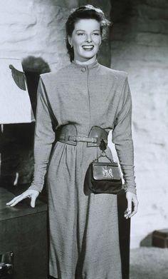 Katharine Hepburn - The Ultimate Roundup Of America's Top Fashion Icons via @WhoWhatWear